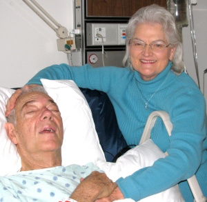 Dan & Anne Before Surgery Friday